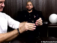Alessio Romero loves drape extensively more reject b do away with MyFriendsFeet here an