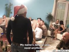 Christmas Swinger Orgy