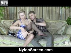 Irene&Rolf steer clear of in nylon bear oneself oneself