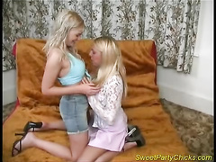 Blondes offering blowjobs