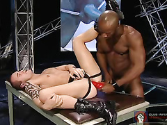 Latex Party!jilt Doug Jeffries & Carlo Cox Stamp Round Out Armin's