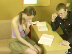 Pest indoctrinate spit nearby facial cum-painting