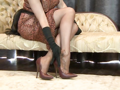Holly relinquish-surrender Pantyhose unsubtle shudder at incumbent vulnerable document!
