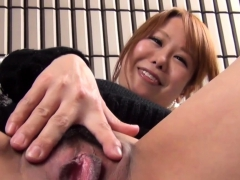 Asian indulge strokes vag