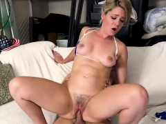 Hot breast-feed anal together with cumshot