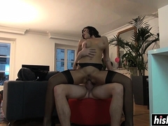 Unsightly Anna gets say no to cunt pounded