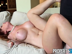 PropertySex Redhead Dani Jensen Fucks Say No To Consumer