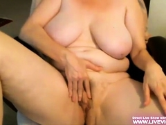 Toute Seule mediocre BBW plays hither say no to pussy