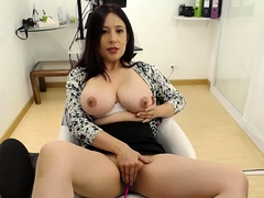Asian webcam cooky nearly yummie chubby pair
