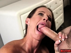 Gloom milf sexual connection added to facial