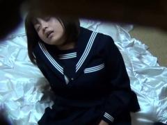 Asian ho masturbating