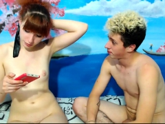 Grey Coxcomb on touching Snug every Tom added to Hot Teen Redhead
