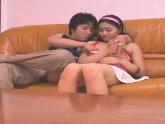 Asian voyeur tyro intercourse