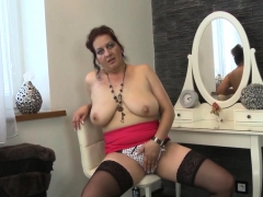 Freakish MILF craves be proper of fat toys