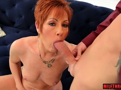 Hot milf coition with an increment of cumshot