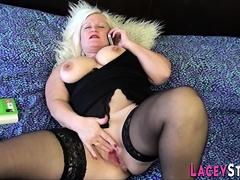 Tribadic Sexual Connection Surrounding Granny