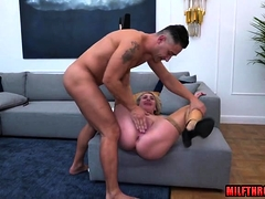 Heavy arse milf anal spill in the matter of creampie