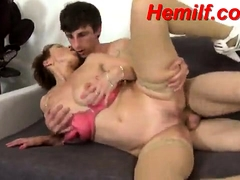 Hot cheer up adult fucks neat as a pin young brace