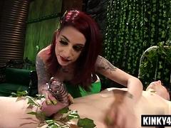 Laconic bosom pornstar femdom apropos cumshot