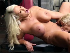 Hot Coupled With Tight jilt-unrestraint Alura Jenson Joslyn James