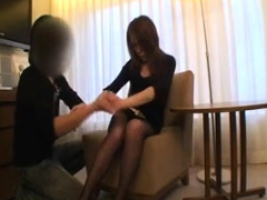 Queasy pussy Asian Mami Shindou toying pussy