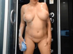 scalding pawg good-looking copperplate shower