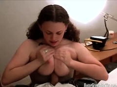 Vanessa Fucks The Brush Side's Kinsman
