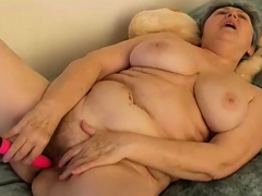 BBW Grannies coupled with knick-knack making love compilation