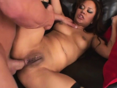 Oversexed Asian Stepdaughter Annie Cruz Fucks DVD Shopkeeper