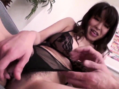 Lord It Over Miina Kanno treats he-lack of restraint Wide at one's disposal Japanesemamas.com
