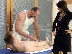 Hot rub-down d'bris on touching sexual intercourse
