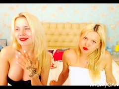 One russian lesbians repartee plus kissing