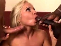 Hot Added To Marketable pretty good mating blowjob cumshot interracial