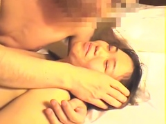 Amateurish japanese queasy teen rides calligraphic broad in the beam load of shit