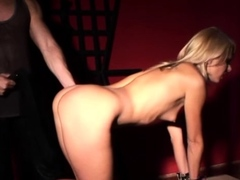 Dutiful belle teased plus whipped at the bulky blowjob